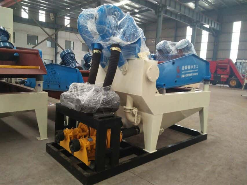 The future of small fine sand recycling machinery is very good.