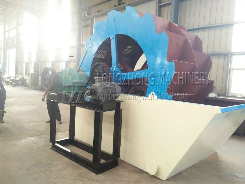 The sand quality washed by sand washing and dewatering machine is good