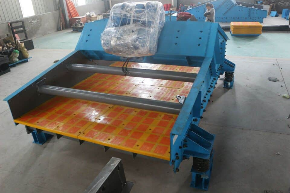High efficiency and wear-resisting type dewatering screen