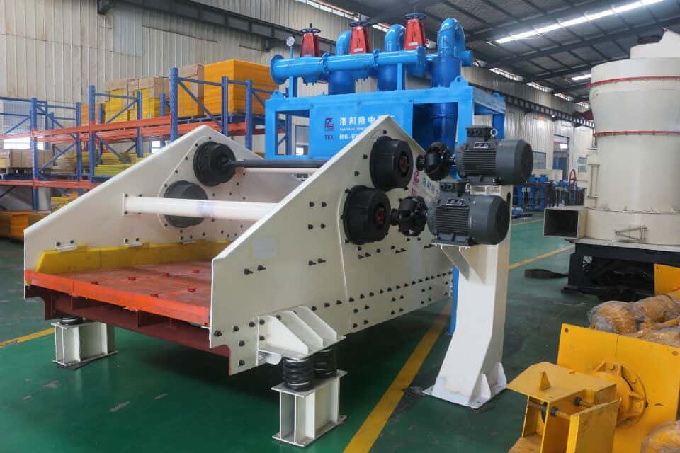 The tailing dry machine can be used in any area