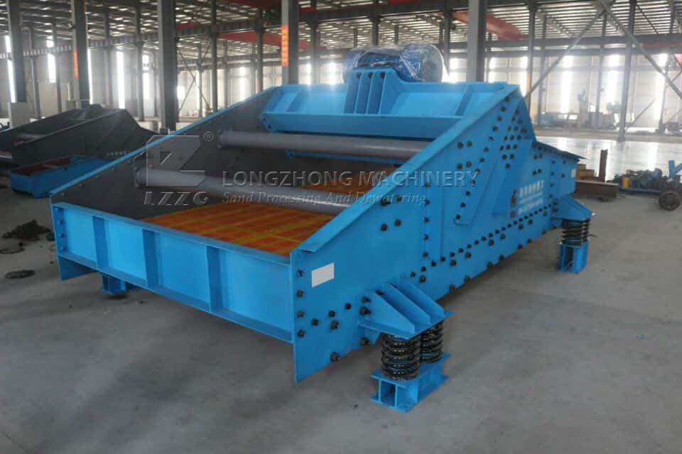 dewatering screen production line