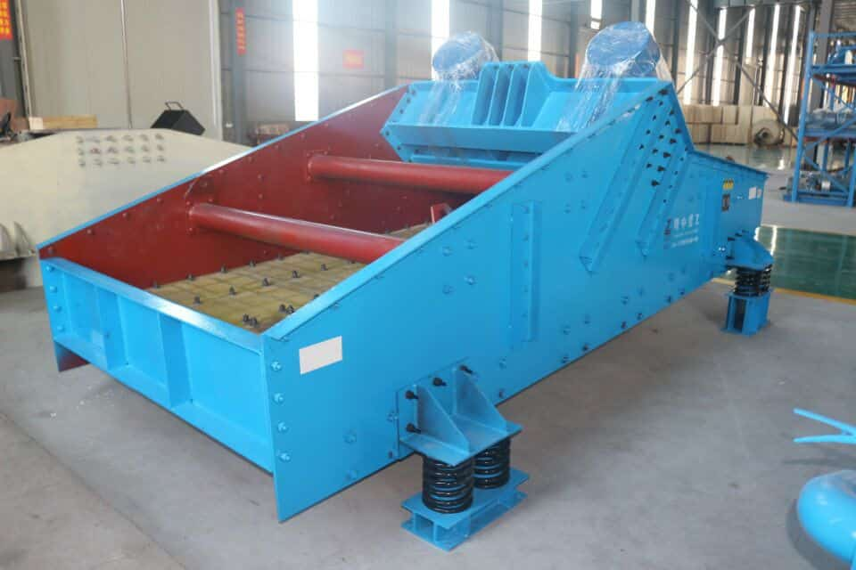 mechanism sand production line.