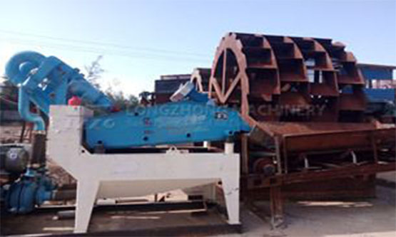sand recycling machine