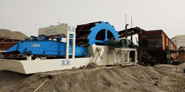 sand washing and recycling